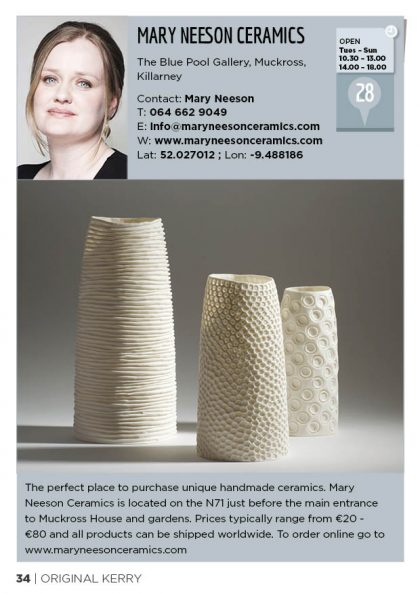 Mary Neeson Ceramics